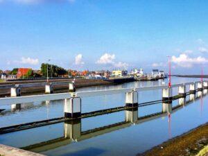 De haven van Harlingen is het toneel van veel watersportevenementen